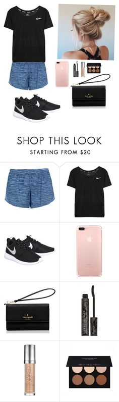 """""""Hyde park Wednesday May 31 S9 A3"""" by soccerstar913 ❤ liked on Polyvore featuring NIKE, Kate Spade, Urban Decay and Anastasia Beverly Hills"""