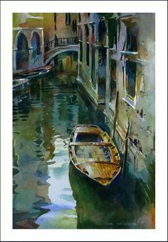 Stan Miller Watercolor