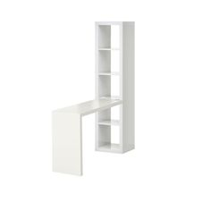 g to suit it. I've looked into having a shelf with legs or even two shelves to form the desk pictured but they are coming up short in the dimensions. Am I missing something? Has this been done before?    Please help!