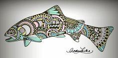 Hospitable carried out alaska fishing adventure View Limited Deals Trout Tattoo, Haida Art, Fish Sculpture, Fly Fishing, Alaska Fishing, Fish Design, Aboriginal Art, Fish Art, Native Art