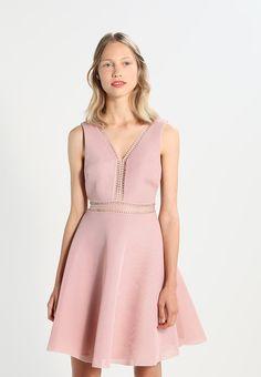 94d1bcdb Cross Back Peplum Dress | Things I need to buy | Peplum Dress ...