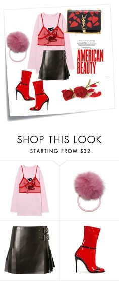 """""""I Said Yes Daddy I Do"""" by nicolebokser on Polyvore featuring Post-It, Alexander Wang, Gucci and Yves Saint Laurent"""