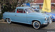Borgward Isabella Pick Up.Classic Car Art&Design @classic_car_art #ClassicCarArtDesign