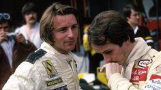 Rene Arnoux and Gilles Villeneuve