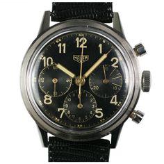 #watch What a beautiful, classic Heuer.