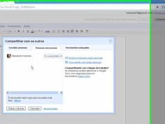 Criando e compartilhando um documento no google docs. (Tutorial sobre o Google Docs (HD)