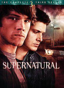 Supernatural season 3 dvd usa