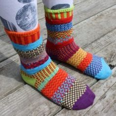 recycled cotton socks looooookin good and good for the environment too!