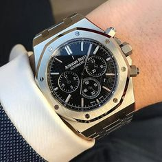 Audemars Piguet Royal Oak • #WRISTPORN by @uppercrustlife • www.wristporn.com
