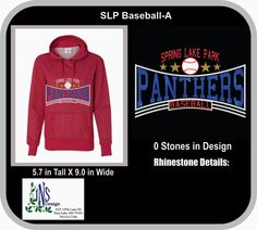 SLP Panther Baseball by JNSDesign on Etsy