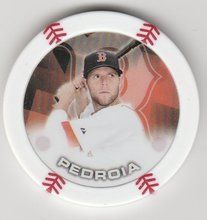 2014 Topps MLB Poker Chipz Dustin Pedroia Boston Red Sox