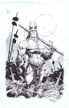 Conan - The walking dead by Tony Moore