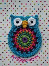 owl pot holder.