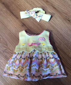Baby Born Kleid mit Stirnband  *Zapf Creation in Spielzeug, Puppen & Zubehör, Babypuppen & Zubehör | eBay!