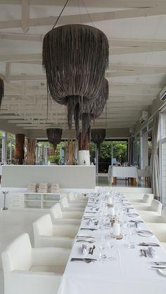 White Pearl Resort, Ponta Mamoli, Moçambique | Viaje Comigo - Part 2 Chandelier, Ceiling Lights, Lighting, Home Decor, Candelabra, Decoration Home, Room Decor, Chandeliers, Lights