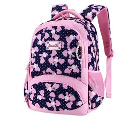 New Arrivals School Backpack For Girls Casual Cartoon Primary School Grade Children Student Backpack Kids Knapsack mochila Cheap School Bags, School Bags For Kids, Kids Bags, Girls School, Girl Backpacks, School Backpacks, Princess Style, Princess Fashion, Cartoon Design