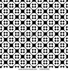 Vector monochrome seamless pattern, simple minimalist texture with crosses & circles, smooth geometric figures, black & white colors. Abstract endless background. Design for prints, textile, digital