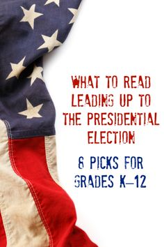 What to Read Leading Up to the Presidential Election (Teaching Literacy, Literacy Tips) 5th Grade Social Studies, Social Studies Classroom, Social Studies Resources, Teaching Social Studies, Teaching Science, Teaching Reading, Teaching Resources, We Are Teachers, History Teachers