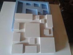 Forma Placa Gesso Cimento Resina 30x30cm F.gratis - R$ 157,99