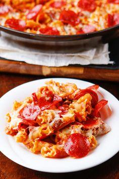Pepperoni Pizza Pasta | Kevin & Amanda