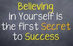 image of motivation  - Motivational saying that we should believe in who we are and that leads to success - JPG