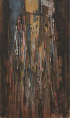 Norman Lewis Untitled, 1950 Oil on canvas 49 ¾ × 29 ½ in Abstract Canvas, Oil On Canvas, Norman Lewis, African American Art, Black Art, Abstract Expressionism, Art History, Contemporary Art, Artsy
