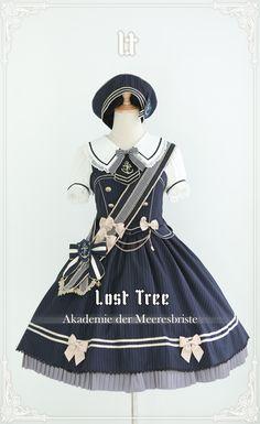 Lost Tree -Akademie der Meeresbrise- Lolita JSK - Pre-order Closed