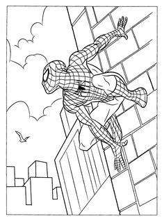 coloring page spiderman 3 coloring pages 1 - Coloring Pages Spiderman Printable