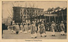 Nurses in the Women's Suffrage March, March 3, 1913 | by StreetsofWashington