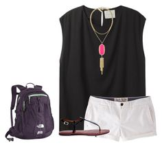 """""""Another boring day at school"""" by ava-lindsey ❤ liked on Polyvore featuring La Garçonne Moderne, Jack Wills, Sam Edelman, Kendra Scott and The North Face"""