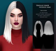 Los Sims 4 Mods, Sims 4 Game Mods, Sims Four, Sims 4 Mm, Sims 4 Mods Clothes, Sims 4 Clothing, Sims 4 Black Hair, Sims 2 Hair, Sims 4 Anime