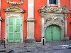 Doors in Gdansk, Poland