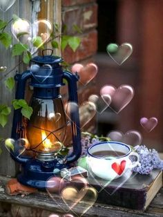 Beautiful Gif, Cottage, Happy Love, Buen Dia, Good Morning Greetings, Motivational Quotes, Cottages, Cabin, Cabins
