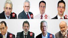 """:) """"Provem uma corrupção minha que eu irei a pé para ser preso"""", disse aquele que é considerado para 90% da população honesta brasileira como sendo o chefe"""