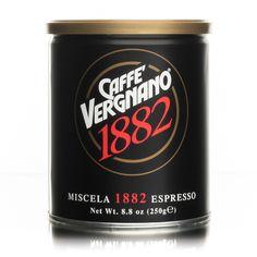 Kawa mielona Vergnano 1882 Espresso Cristal, puszka 250g