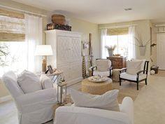- Coastal-Inspired Design on HGTV.  Beautiful armoire