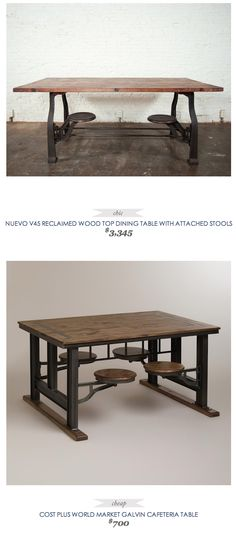 Attached Bar Stools For The Home Pinterest Bar