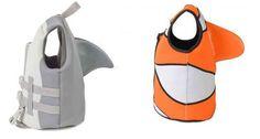 Make a splash with the Sea Squirt shark vest! Shark, Gadgets, Vest, How To Make, Sharks, Gadget