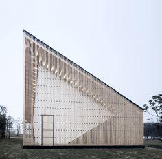 Nanjing Wanjing Garden Chapel / AZL Architects   ArchDaily