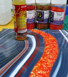 NO Days Liquid Fusing Adhesive is a necessary tool for any fused glass artist to have.  It allows designers to create simple or intricate frit & powder designs will be held securely to the glass surface to prevent movement before firing in your kiln.