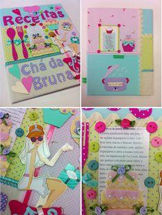 Álbum para presente de chá de panela! www.chria.com.br