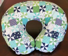 A personal favorite from my Etsy shop https://www.etsy.com/listing/226004781/modern-boppy-pillow-cover-designer
