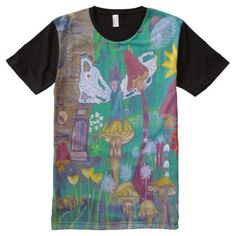Fairyland Full Print Tshirt - click/tap to personalize and buy Unique Art, Shirt Style, Your Style, Shirt Designs, Mens Tops, T Shirt, Stuff To Buy, Fashion, Supreme T Shirt
