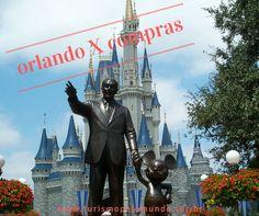 """#Orlando = #Disney = #Universal = #SeaWorld = #compras = um monte de dúvidas na cabeça de quem não conhece.    Orlando não é Disney, mas é uma cidade """"cheia de bairros"""" que são os parques de diversões (Complexo Disney, Complexo Universal e Complexo Sea World...). Hoje não falaremos disso, mas falaremos das compras que os brasileiros tanto amam.    As lojas representam alguns dos principais pontos turísticos da cidade. A sua viagem vai coincidir com o #BlackFriday ou Natal? Sinto em…"""