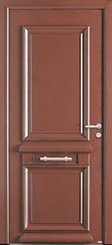 Porte bois porte entree bel 39 m classique poignee plaque for Modele maison nobless