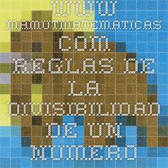 www.mamutmatematicas.com reglas de la divisibilidad de un numero