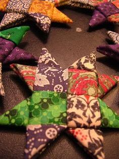 The Knitting Stagehand: Woven Star Tutorial