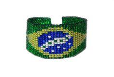 Bracelete Brasil GuriaCarioca - GuriaCarioca