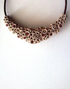 Items op Etsy die op Sieraden van polymeer klei / polymeer klei sieraden ketting / lederen ketting / vrouwen Polymer Clay sieraden / polymeer klei sieraden ketting lijken
