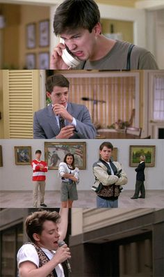 Ferris Bueller's day off, one of the best movies ever.